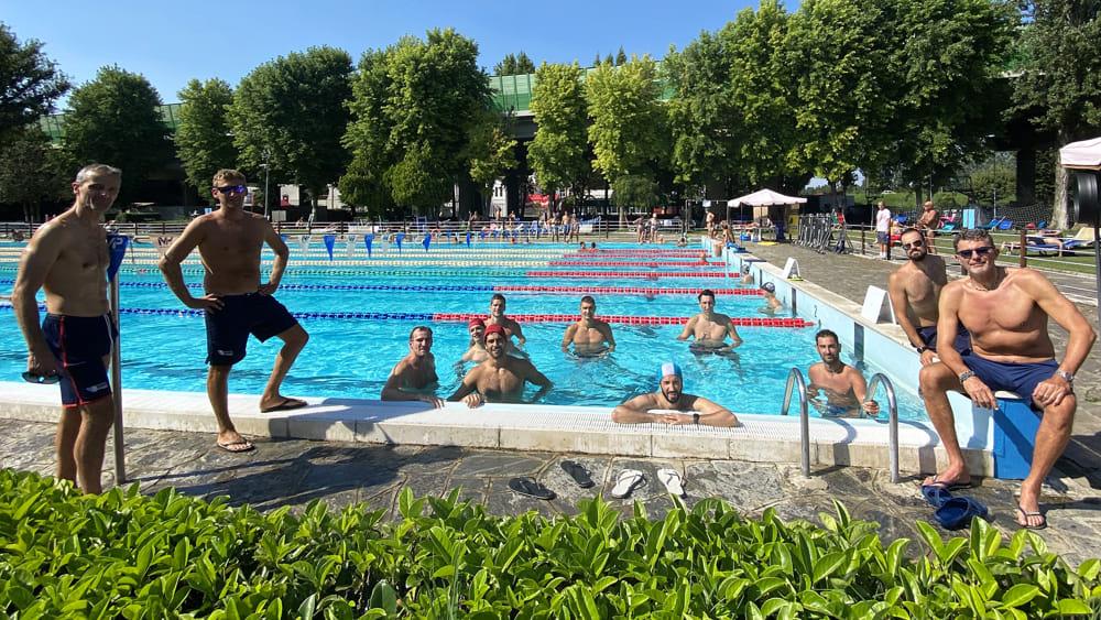 La stagione della Gas Sales inizia in piscina: oggi sono partiti gli allenamenti in acqua