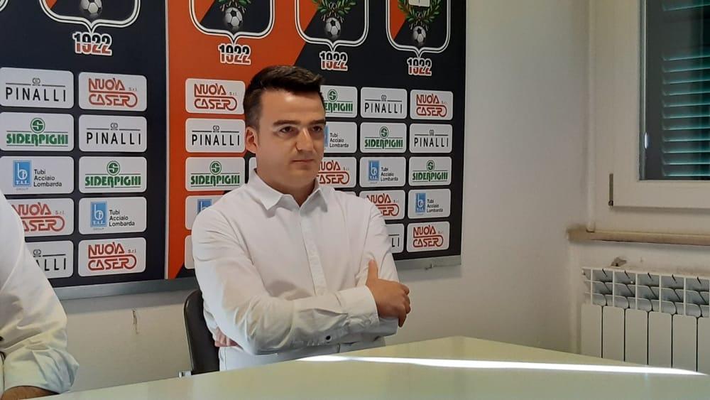 Fiorenzuola - Ecco il direttore sportivo Marco Bernardi: «Metteremo in pratica la filosofia della società»