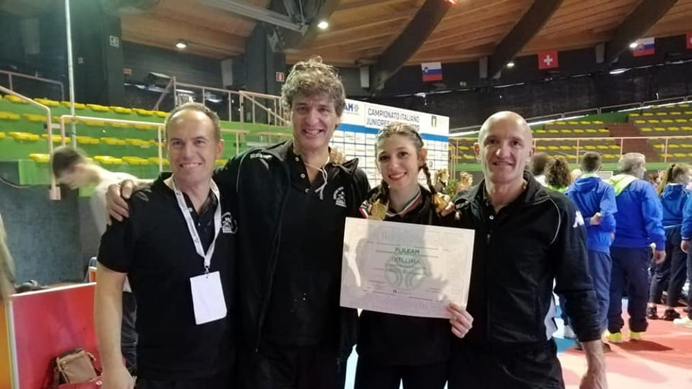 Giulia Ghilardotti è ancora campionessa italiana di karate