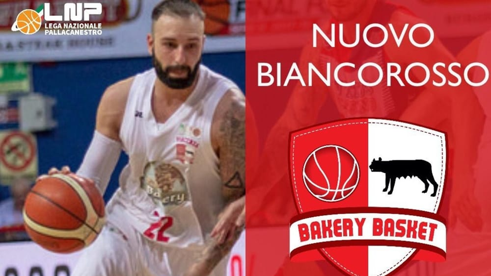 Basket - Colpo Bakery: torna in biancorosso il playmaker Roberto Maggio