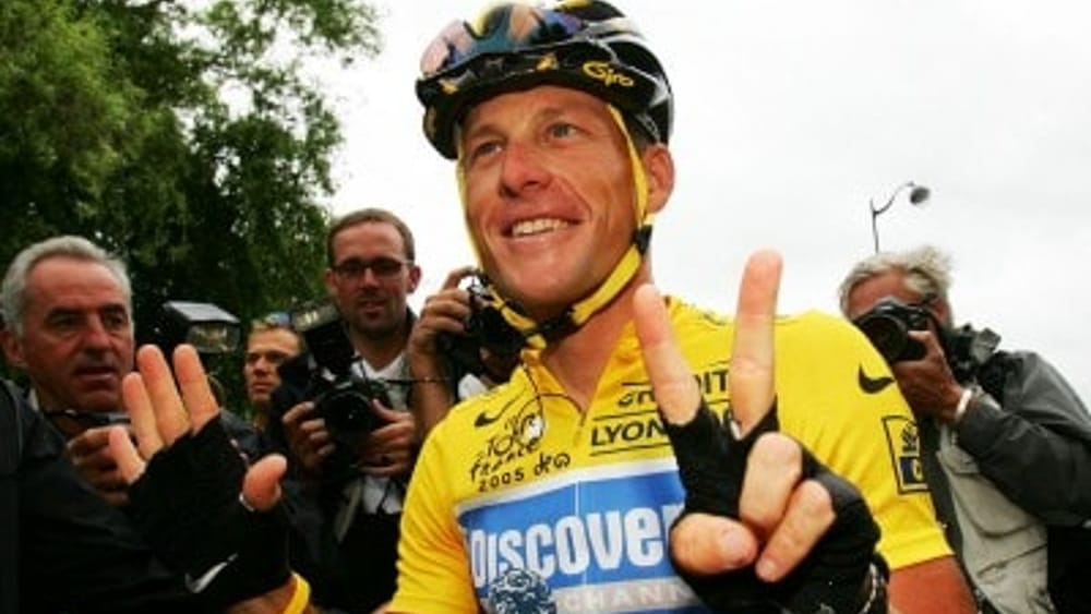 Il texano festeggia i suoi 7 Tour de France