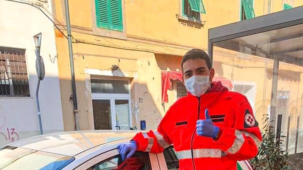 Il canestro più importante di Pedroni: è volontario della Pubblica Assistenza a Piombino