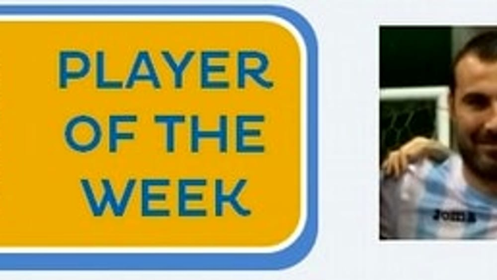 Daniele Fermi, il Player of the Week