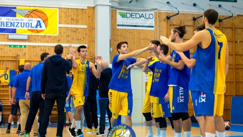 Basket C - Fiorenzuola inarrestabile, ne fa 102 in casa del Montecchio