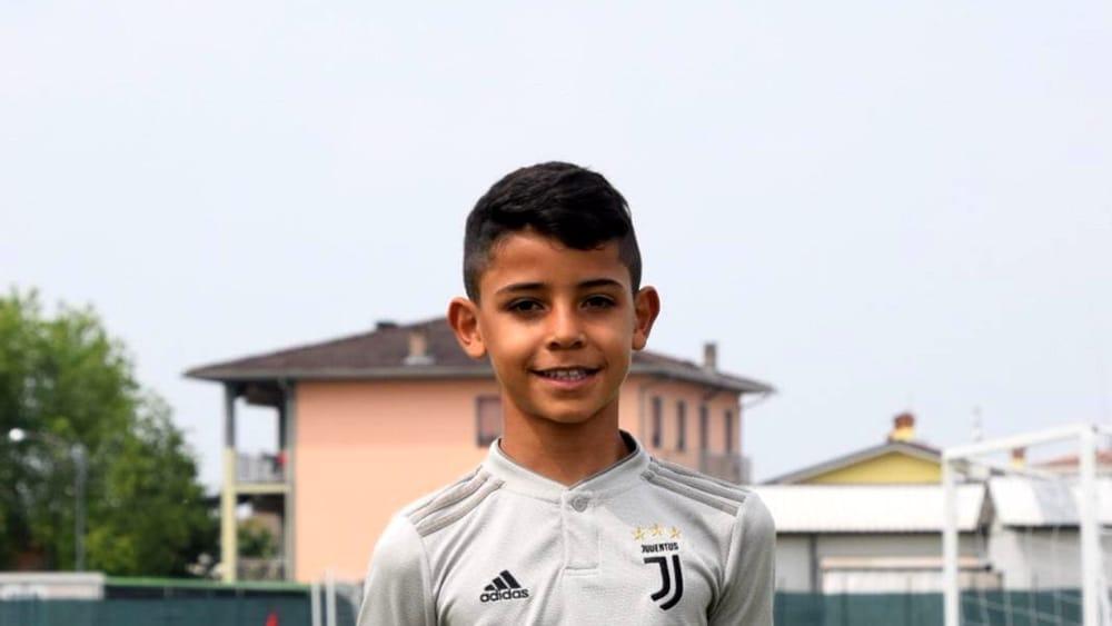 Cristiano Ronaldo junior in gol con la Juventus al Big Ball. VIDEO