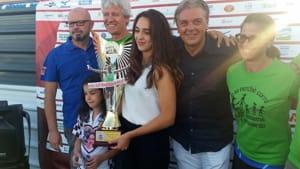 Premiazioni Placentia Half Marathon 2017 premio Lokomwa 2-2