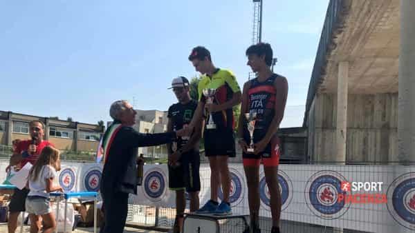Triathlon Città di Piacenza 2018 podio uomini-2