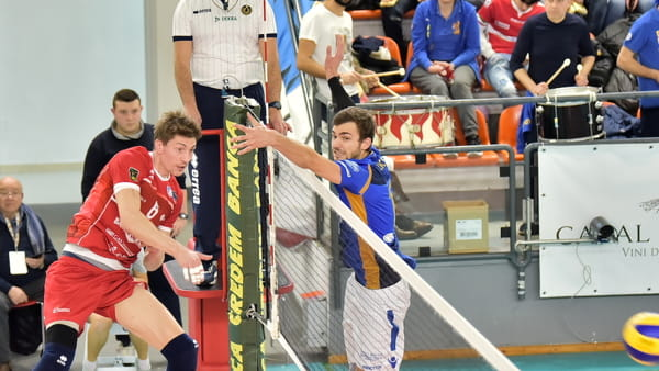 Gli highlights di Ortona-Gas Sales 1-3