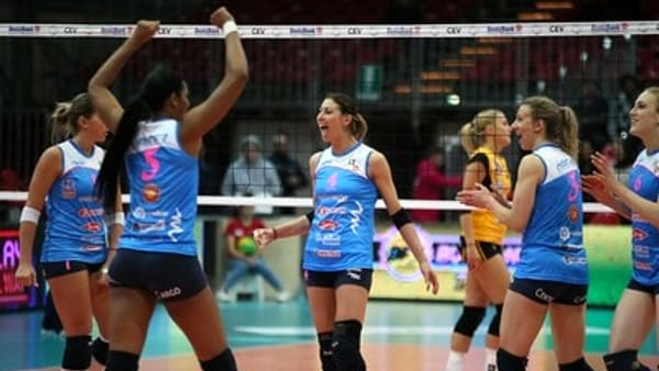 Volley - Piacenza qualificata in Champions