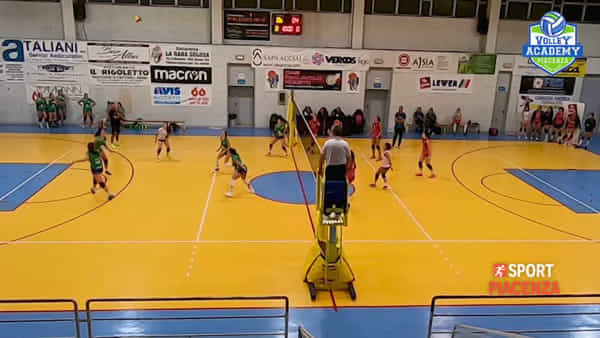 I primi due punti del Volley Academy Piacenza in Serie D