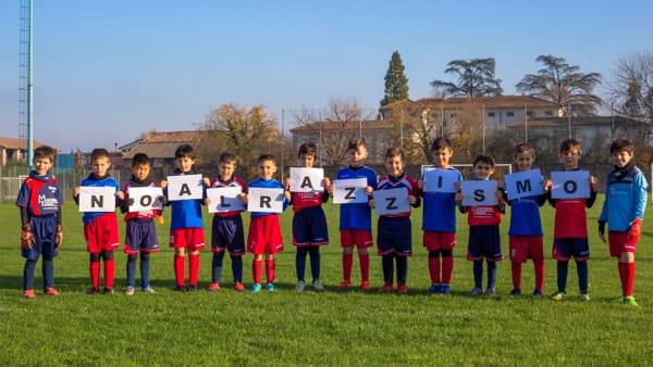 %22No al razzismo%22 calcio giovanile 3-3