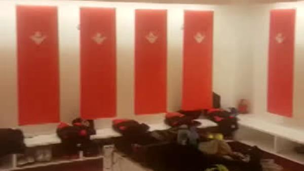 I nuovi spogliatoi del Piacenza calcio. VIDEO