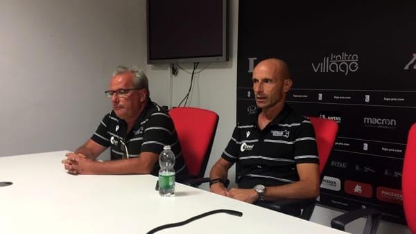 Coppa Italia - Piacenza, il tecnico Franzini: «Potevamo chiuderla con meno fatica». Video e Foto