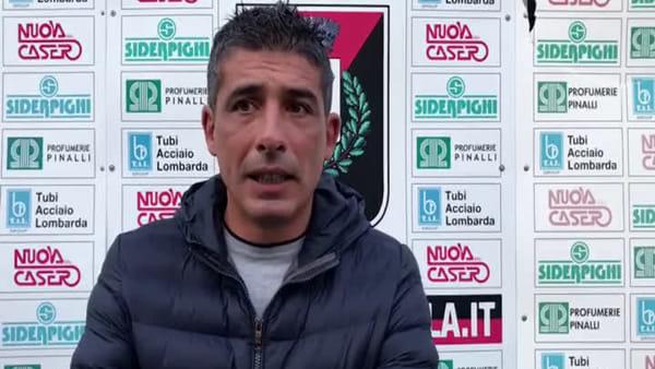 Fiorenzuola - Tabbiani: «Mezzolara bravo, noi però potevamo fare molto di più» VIDEO