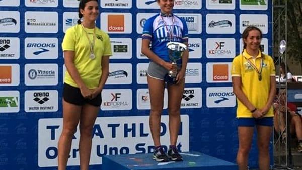 Tania Molinari premiata per la vittoria in Coppa Italia
