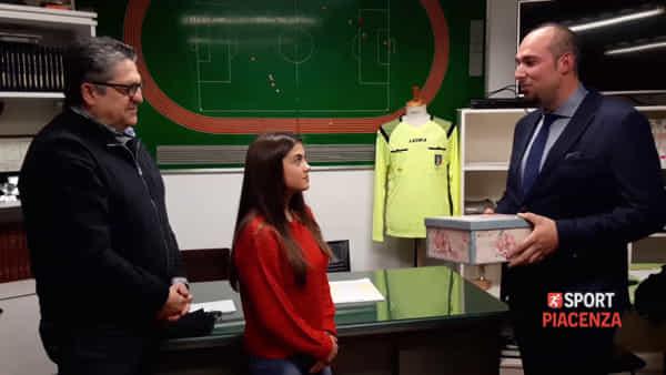 Il Corte Calcio regala una maglietta all'arbitro insultato alla partita di Giovanissimi