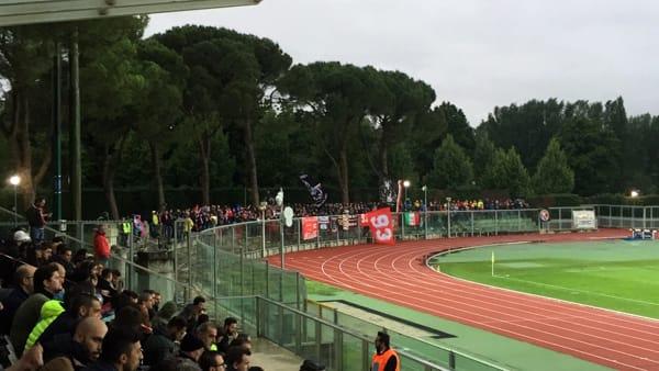 Il Piacenza spinto dai 700 tifosi arrivati a Imola, VIDEO