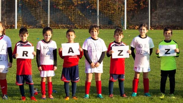 %22No al razzismo%22 calcio giovanile 4-3