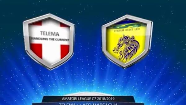 CAI Soccer Piacenza - Gli highlight VIDEO di Telema-Asd Marsaglia