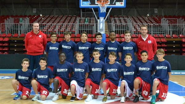 L'Under 13 Elite del'Assigeco
