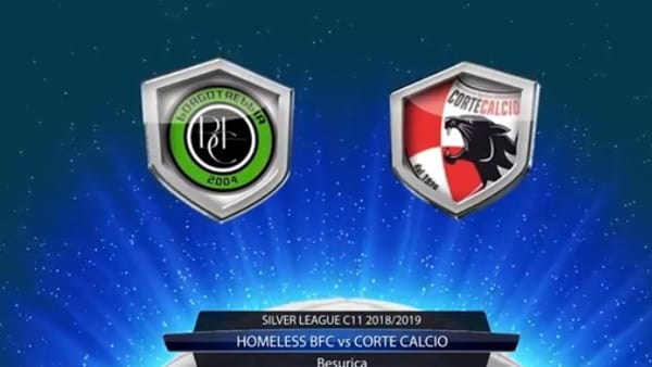 CAI Soccer Piacenza - Gli highlight video di Homeless BFC - Corte Calcio 6-1