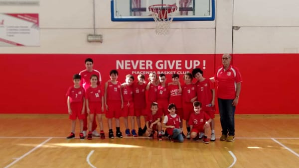 Bakery: tutto facile per l'Under 15 mentre l'Under 13 supera Fidenza