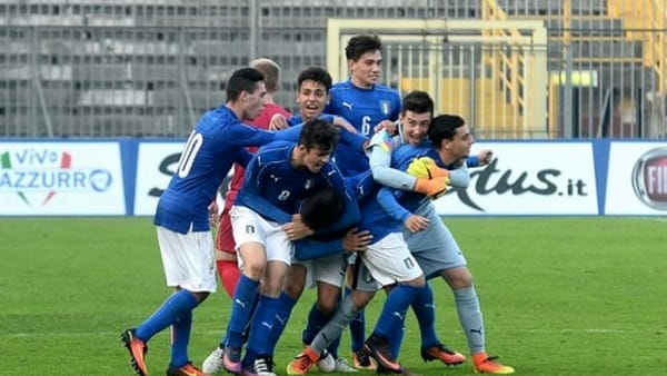 Visconti con l'Italia si qualifica agli Europei Under 17