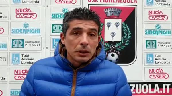 Fiorenzuola - Tabbiani legge il lato positivo della gara: «Orgoglioso della prestazione» VIDEO