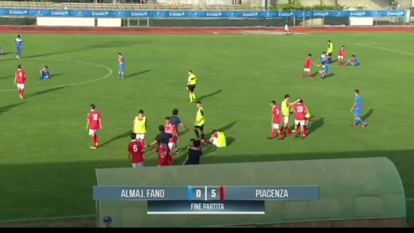 Under 15, Piacenza-Fano 5-0: guarda qui il video con tutta la partita dei biancorossi