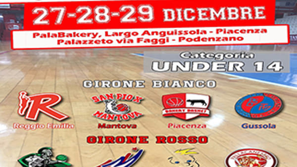 Va al GiocoParma il Torneo Bakery Basket 2017. VIDEO