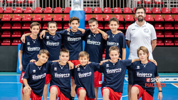 L'Under 13 regionale dell'Ucc Assigeco