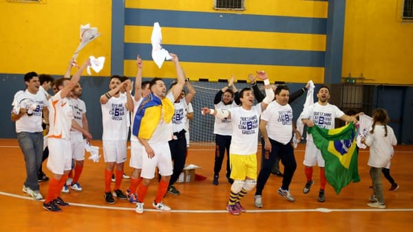La festa dell'Area Indoor promossa in Serie B. VIDEO