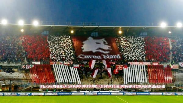 Piacenza, Sestu-gol fa esplodere il boato del Garilli e la magica coreografia della Curva VIDEO