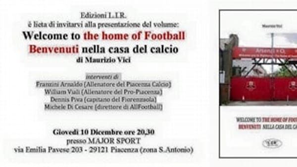 "Vici presenta il suo libro ""Welcome to the home of Football"" - 1"