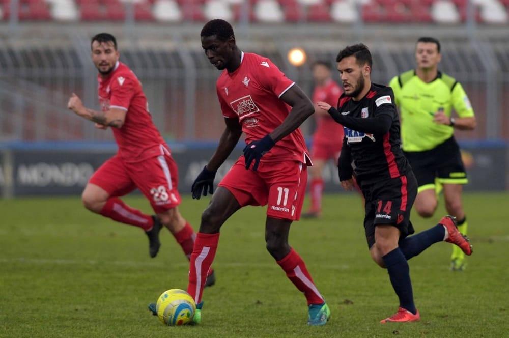 Piacenza - Sylla dice addio al biancorosso, l'attaccante va in Serie D al Gozzano
