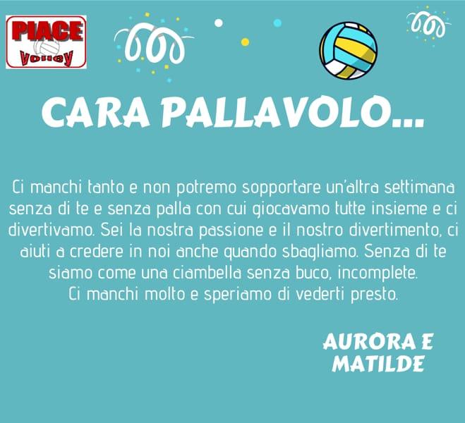 Cara Pallavolo Mi Manchi L Idea Del Piace Volley Per Continuare A Sentirsi Parte Di Un Gruppo