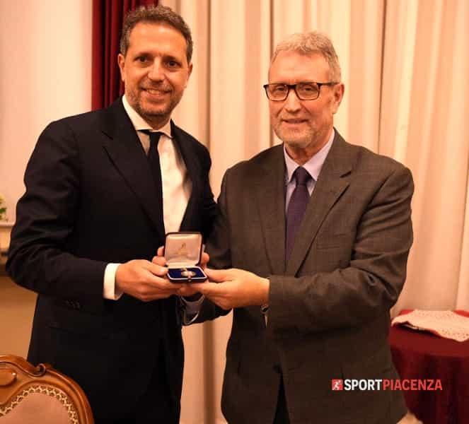 Fabio Paratici con Danilo Anelli della famiglia Piasinteina-2
