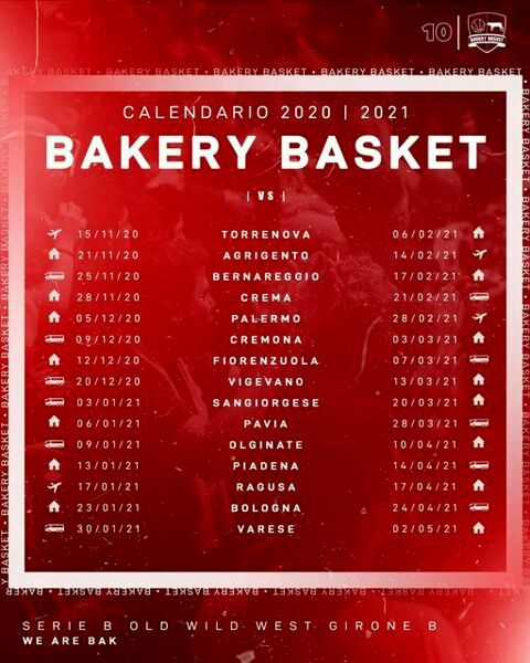Calendario Bakery basket 2020-2021-2