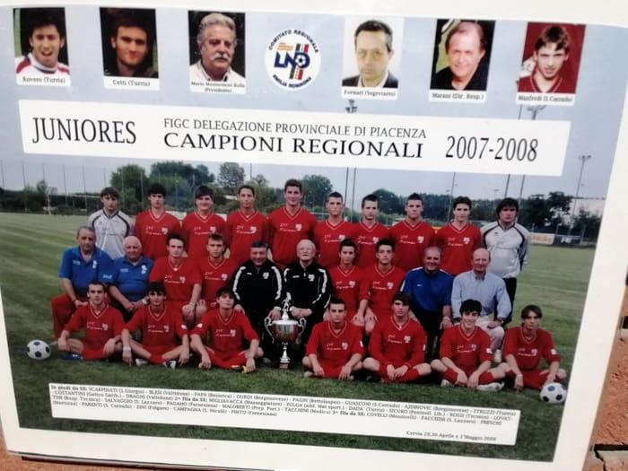 Rappresentativa Juniores Piacenza campione regionale 2007-2008-4